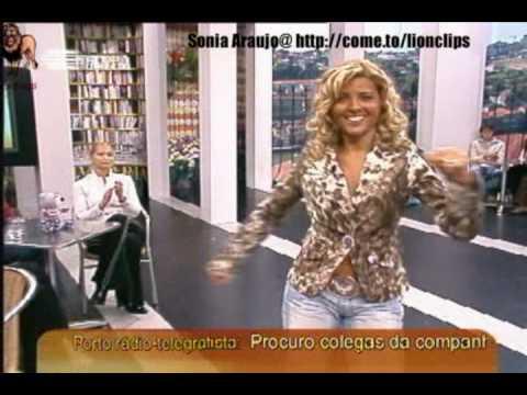 Sónia Araújo a abaná lo