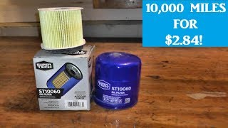 Walmart Super Tech Oil Filter | 10,000 Mile Protection for under $3