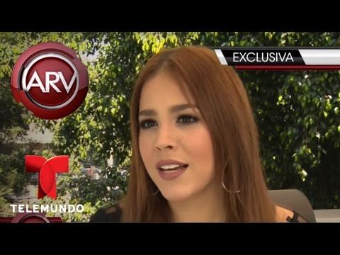 Danna Paola confiesa cuáles son sus trucos de belleza Al Rojo Vivo Telemundo