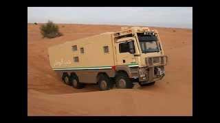 Trailer for OFF Road Trips شاحنة مجهزة لرحلات البر والصيد والمقناص
