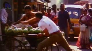 Balakrishna Attacks Mukesh Rishi - Action Scene - Gandeevam Movie Scenes