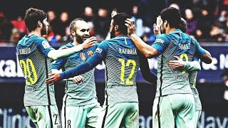FC Barcelona - Top 20 Goals 2016 (English Commentary) HD