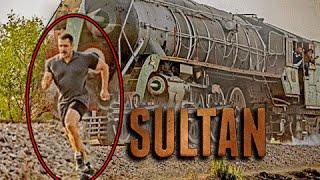Salman Khan RACES Train, Sultan NEW PHOTO