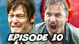Walking Dead Season 7 Episode 10 TOP 10 WTF and Comics Easter Eggs