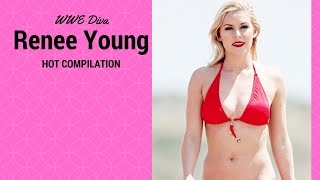 WWE Diva Renee Young Hot Compilation