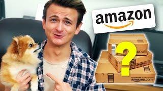 Die 10 unnötigsten Amazon-Produkte! | 100 € ÜBERRASCHUNGSPAKET!!!