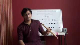 Online Carnatic Flute Lessons / Classes - Demo / Virtual Tour
