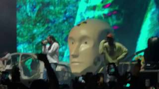 LPFJ2- A$AP Rocky (Tyler, the Creator, Lil Yachty & A$AP Mob onstage) @Camp Flog Gnaw