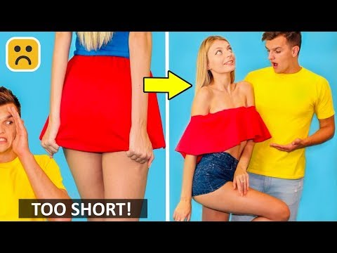 Girls Problems Cool Outfit DIY And Fashion Hacks