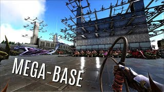 OUR MASSIVE OFFICIAL PVP BASE - Official PVP (E41) - ARK Survival Gameplay