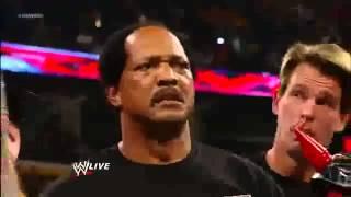 Ron Simmons Says  Damn    WWE Raw 1000th Episode 7 23 12 APA Returns