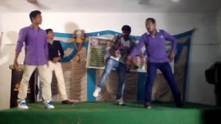 Dr BR AU telugu Department Dance show