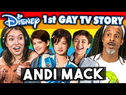 Xxx Mp4 Generations React To Disney 39 S 1st Gay TV Character Andi Mack Coming Out Story 3gp Sex