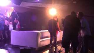 Keesha Sharp & Brad Sharp film music video for MARTIK