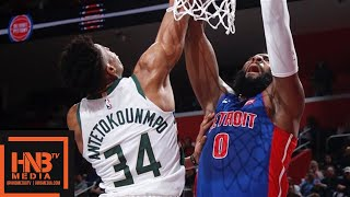 Milwaukee Bucks vs Detroit Pistons - Game 4 - Full Game Highlights | April 22, 2019 NBA Playoffs