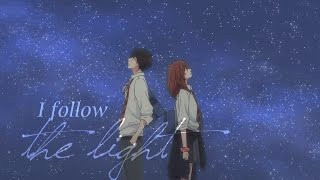 follow the light | kou & futaba (ao haru ride) 「AMV」