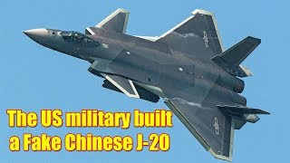 US Marines Built Full-Scale Replica of China's J-20 Stealth Fighter
