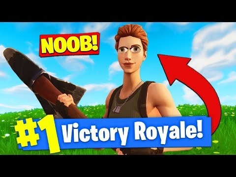Xxx Mp4 PRETENDING To Be A NOOB To WIN In Fortnite Battle Royale 3gp Sex