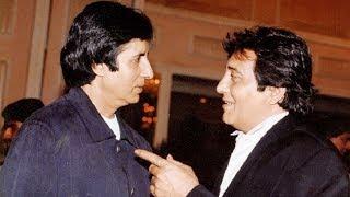 Why Amitabh Bachchan has  thrown glass on Vinod Khanna