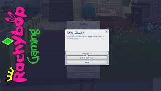 The Sims 4 let's play #6: Lost my save | Rachybop