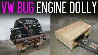 $12 DIY VW Bug Engine Dolly