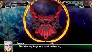 Super Robot Taisen V(ENG): Neo Zeong All attacks