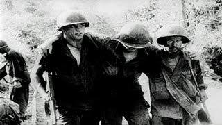 HD Stock Footage WWII Battle of Peleliu and Anguar Islands - Fury in the Pacific Reel 2