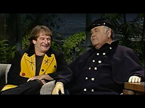 Robin Williams on Carson w Jonathan Winters 1991