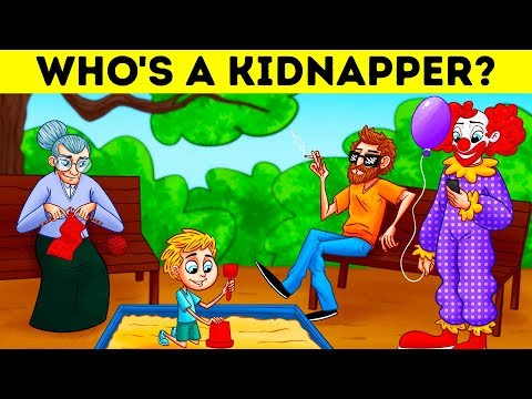 Xxx Mp4 WHO S A KIDNAPPER 17 RIDDLES TO SAVE SOMEONE S LIFE 3gp Sex