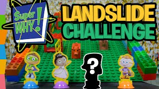 Super Why! Lego Landslide Challenge Full Episode ft PBS Kids Super Why ABC Letter Game by ToyRap