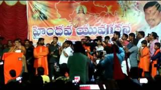 Raja Singh Speech at Tandur