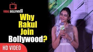 Why Did Rakul Preet Singh Join Bollywood? | Truthful Reply | Aiyaary Trailer