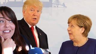 Trump Losing To Merkel aka The World Thinks We