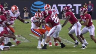 Alabama falls short vs. Clemson in championship rematch