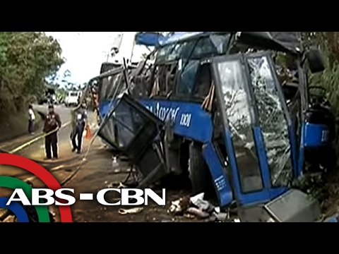 TV Patrol: Hindi nakapag-preno ang driver ng naaksidenteng bus sa Tanay ayon sa PNP