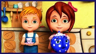 I am a Little Teapot | Nursery Rhymes Songs | Collection of Baby Songs by Rhyme4Kids