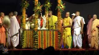 2017 Lord Caitanya Mahaprabhu's Maha Abhisheka in Sri Dhama Mayapur.