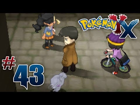 Let's Play Pokemon: X - Part 43 - In the Back Alleys