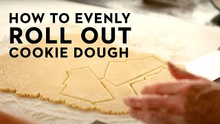 No-Fail Trick To Rolling Out Perfect Sugar Cookie Dough!