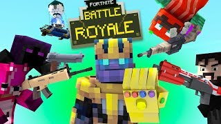 Fortnite Original Animation | TOP 12 ANNOYING THINGS IN FORTNITE (Minecraft Animation)
