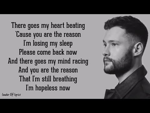 Download Calum Scott - YOU ARE THE REASON (Lyrics) free