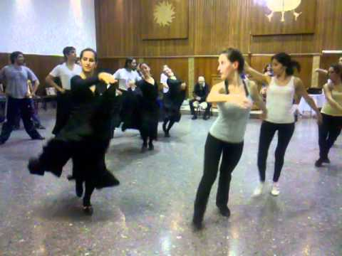 Clase Abierta del Ballet de Mario Bustos chicas