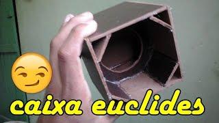 como fazer caixa de grave modelo 1  euclides