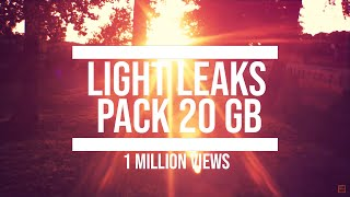 Free 4K Light Leaks Pack [Lens Flares, Film Burn Overlay, 20 GB HD 4k Download]