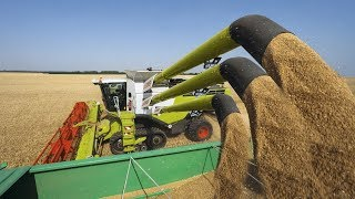 Amazing agriculture technology modern harvest machine modern agriculture compilation 2018