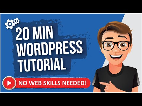 WordPress Tutorial For Beginners - 2017 (The EASY Way)