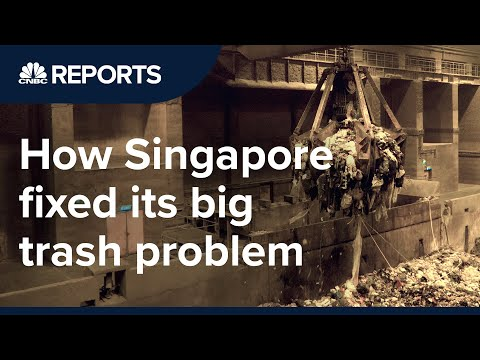 How Singapore fixed its big trash problem CNBC Reports