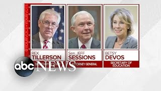 Trump Cabinet Nominees Face Confirmation Hearings Amid Controversy