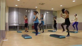ZUMBA - STEP MAXFIT TVER (Dlow-Bet-You-Can39t-Do-It-Like-Me)