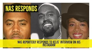 Nas Reportedly Responds to the Kelis Interview | allegedly